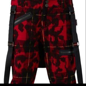 Burton L.A.M.B Johnny Plaid snowboard pants
